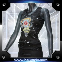 Wild and Toxic Top - Freedom blk