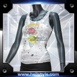 Wild and Toxic Top - Freedom wht