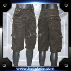 Wild and Toxic - Shorts - London Black Canvas