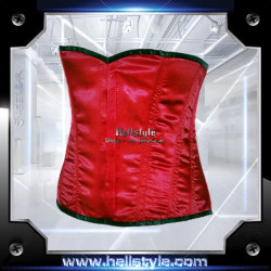 Hellstyle - Corsage - Satin HS-704 Red