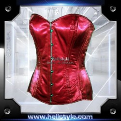 Hellstyle - Corsage - Satin HS-706 Red